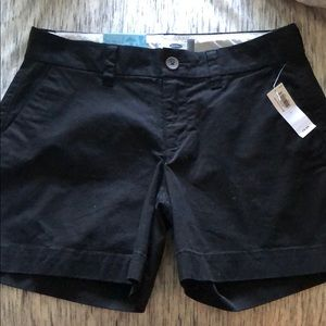Old Navy Black Shorts. Tags on